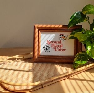 Bamboo Trays Two Set